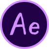 Round-Custom-Aftereffects-icon